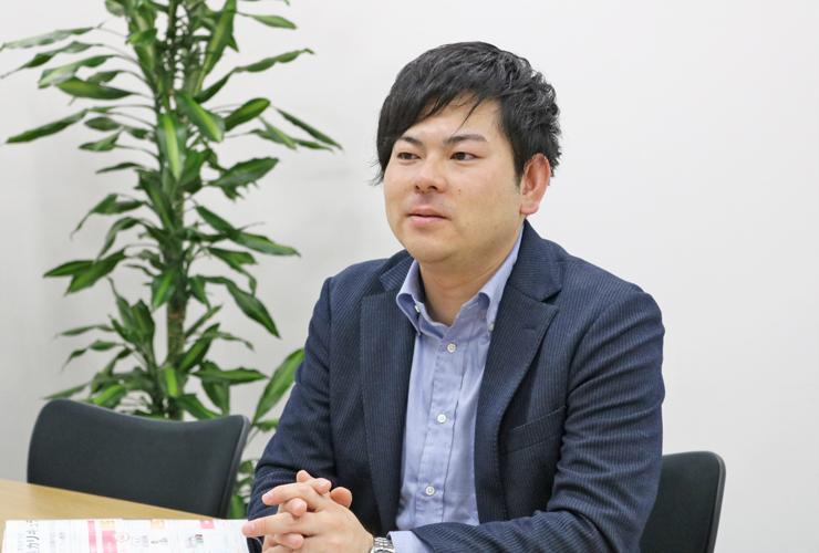 細川慎一ライセンスアドバイザーインタビュー写真