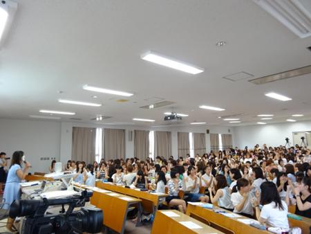 森川代表の講演の様子のお写真